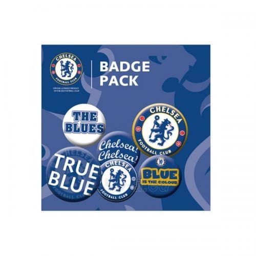 Chelsea F.C. ženklelių rinkinys Paveikslėlis 1 iš 2 251009001464