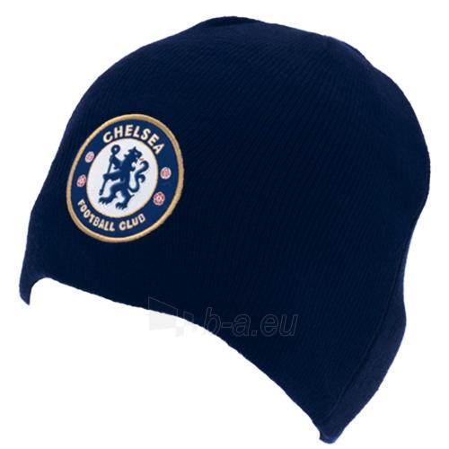 Chelsea F.C. žieminė kepurė (Tamsiai mėlyna) Paveikslėlis 1 iš 2 251009000217