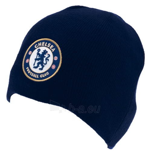 Chelsea F.C. žieminė kepurė (Tamsiai mėlyna) Paveikslėlis 2 iš 2 251009000217