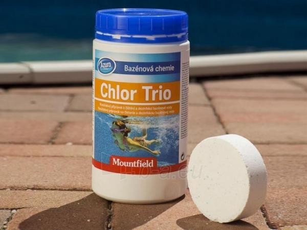 Chloro tabletės trigubo poveikio CHLOR TRIO, 1kg Paveikslėlis 1 iš 2 30092500015