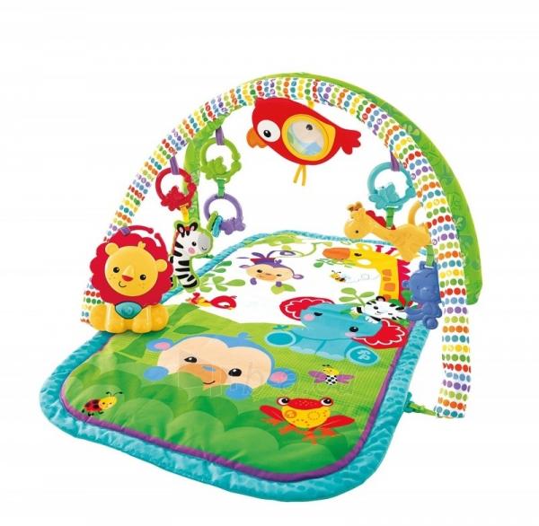 CHP85 FISHER-PRICE 3-in-1 Musical Activity Gym Fisher-Price žaidimų kilimėlis Paveikslėlis 4 iš 5 310820049144