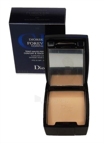 Christian Dior Diorskin Forever Compact Makeup Cosmetic 9,5g (Color 030 Medium Beige - refillable) Paveikslėlis 1 iš 1 250873300174