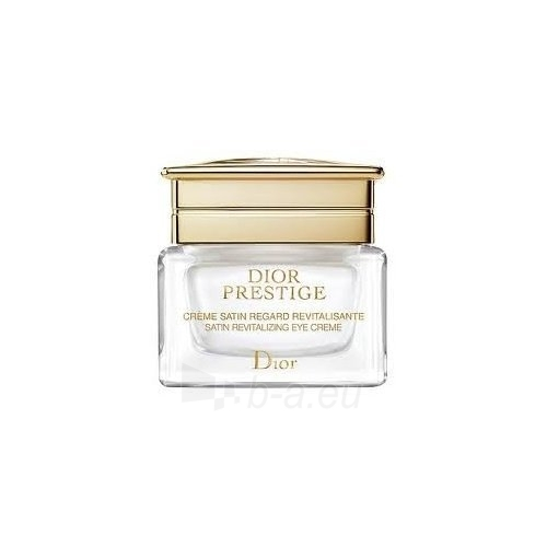 Christian Dior Prestige Satin Revitalizing Eye Creme Cosmetic 15ml (without box) Paveikslėlis 1 iš 1 250840800390