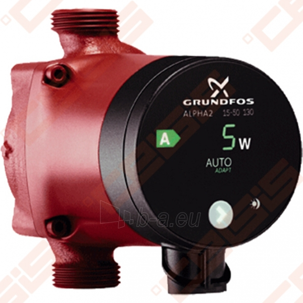 Cirkuliacinis siurblys negeriamam vandeniui Grundfos Alpha2 25-40 130; 1~230V Paveikslėlis 1 iš 3 270831000329