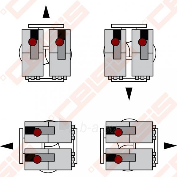 Cirkuliacinis siurblys negeriamam vandeniui Wilo-Stratos-D 40/1-12; 1~230V Paveikslėlis 7 iš 7 270831000384