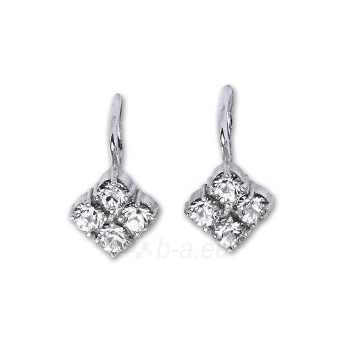 Čištín Sidabriniai auskarai E1324 crystal Paveikslėlis 1 iš 2 30070003070