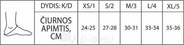 Čiurnos įtvaras atviru kulnu KT0-1R Paveikslėlis 2 iš 2 310820218200