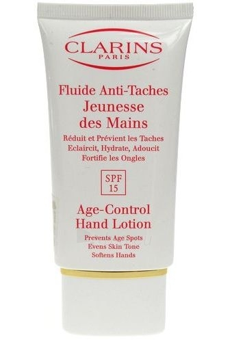 Clarins Age Control Hand Lotion SPF15 Cosmetic 75ml (without box) Paveikslėlis 1 iš 1 250850400111