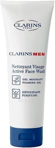 Clarins Men Active Face Wash Cosmetic 125ml (without box) Paveikslėlis 1 iš 1 250840700368