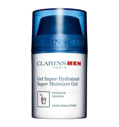 Clarins Men Super Moisture Gel Cosmetic 50ml (without box) Paveikslėlis 1 iš 1 250881200010