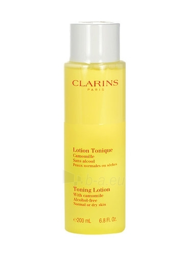Clarins Toning Lotion Alcohol Free Normal Dry Skin Cosmetic 200ml (without box) Paveikslėlis 1 iš 1 250840700452