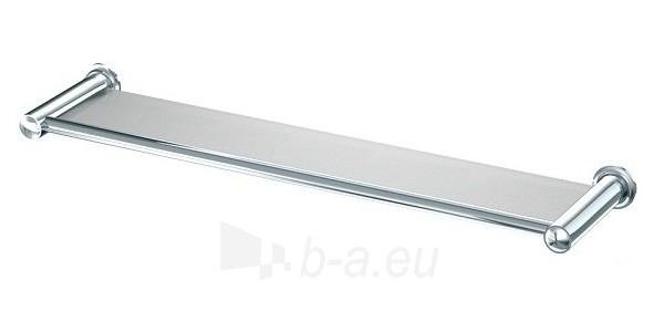 CLASSIC 001/50CC, įrėminta stiklinė lentynėlė, 50 cm Paveikslėlis 1 iš 2 270717001228