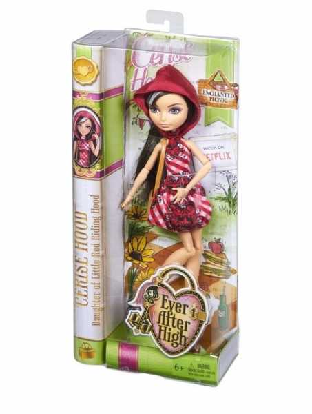 CLD85 / CLL49 Mattel Ever After High lėlė CERISE HOOD Paveikslėlis 1 iš 3 310820050299