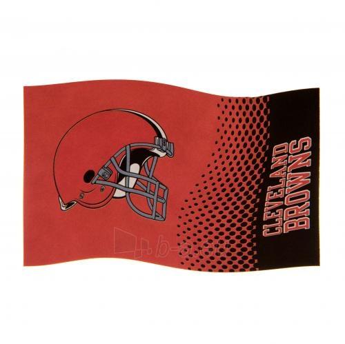 Cleveland Browns vėliava Paveikslėlis 3 iš 4 310820125478