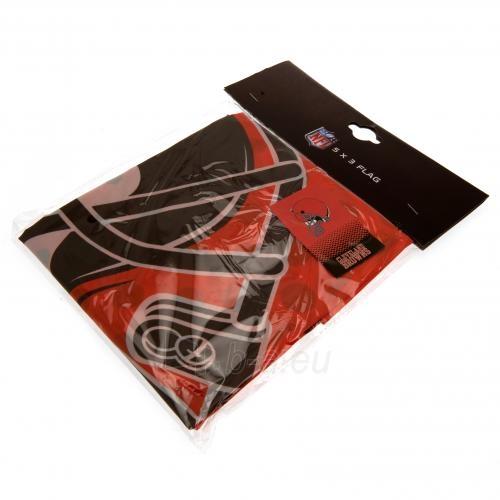 Cleveland Browns vėliava Paveikslėlis 4 iš 4 310820125478
