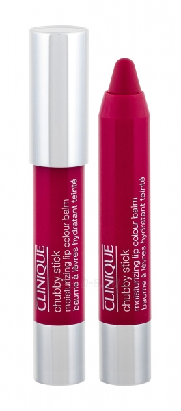 Clinique Chubby Stick Lip Balm 3g Super Strawberry Paveikslėlis 1 iš 2 2508721000455