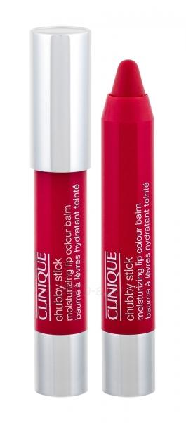 Clinique Chubby Stick Lip Balm Cosmetic 3g 05 Chunky Cherry Paveikslėlis 1 iš 2 2508721000831