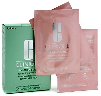 Clinique Moisture Surge Refreshing Eye Mask Cosmetic 20ks Paveikslėlis 1 iš 1 250840800073
