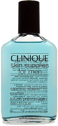 Clinique Skin Supplies For Men Electric Shave Primer Cosmetic 100ml Paveikslėlis 1 iš 1 250881300112