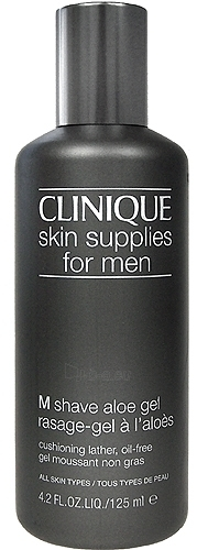 Clinique Skin Supplies For Men M Shave Aloe Gel Cosmetic 125ml Paveikslėlis 1 iš 1 250881200013