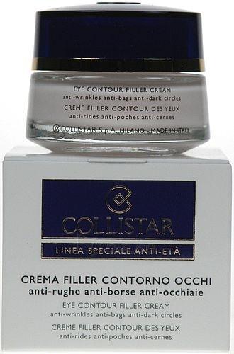 Collistar Eye Contour Filler Cream Cosmetic 15ml (damaged packaging) Paveikslėlis 1 iš 1 250840800221