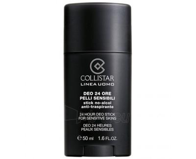 Collistar Men 24 Hour Antiperspirante Stick Sensitive Skin Cosmetic 50ml Paveikslėlis 1 iš 1 2508910000706