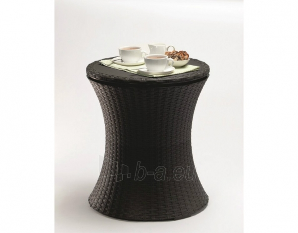 Cool bar Rattan staliukas - šaldiklis Paveikslėlis 2 iš 3 310820004541