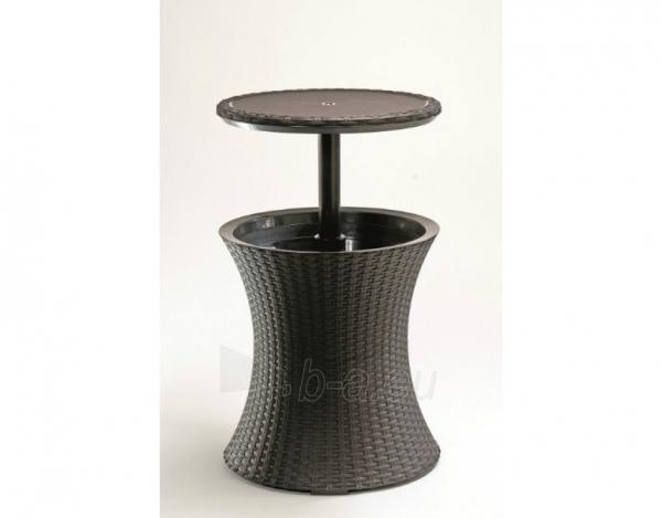Cool bar Rattan staliukas - šaldiklis Paveikslėlis 3 iš 3 310820004541