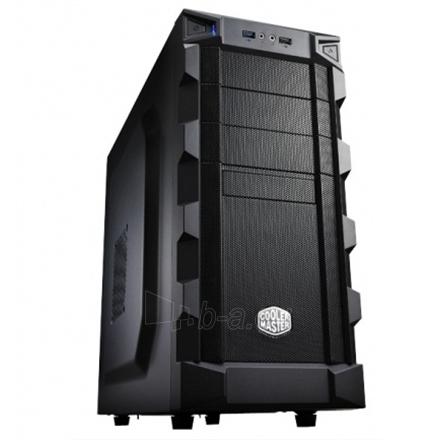 Cooler Master , K(night) 280 Midl tower, USB 3.0 , black w/o PSU, mATX / ATX Paveikslėlis 1 iš 7 250255900463