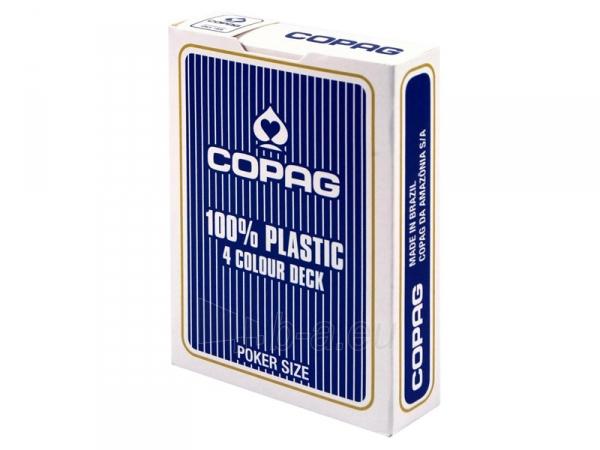 Copag 4 Colour pokerio kortos (Mėlynos) Paveikslėlis 4 iš 8 251010000256