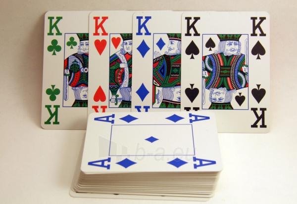 Copag 4 Colour pokerio kortos (Raudonos) Paveikslėlis 8 iš 8 251010000175