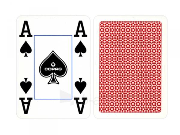 Copag 4 Corner pokerio kortos (Raudonos) Paveikslėlis 2 iš 4 251010000177