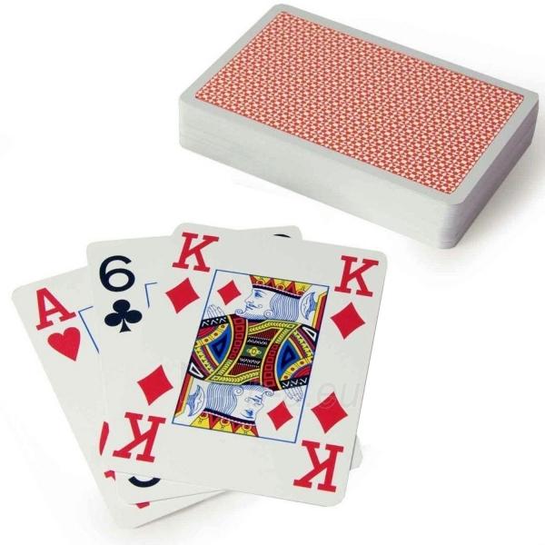 Copag 4 Corner pokerio kortos (Raudonos) Paveikslėlis 4 iš 4 251010000177