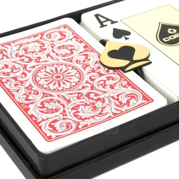 Copag dvi kortų kaladės specialioje pakuotėje Paveikslėlis 4 iš 5 251010000258