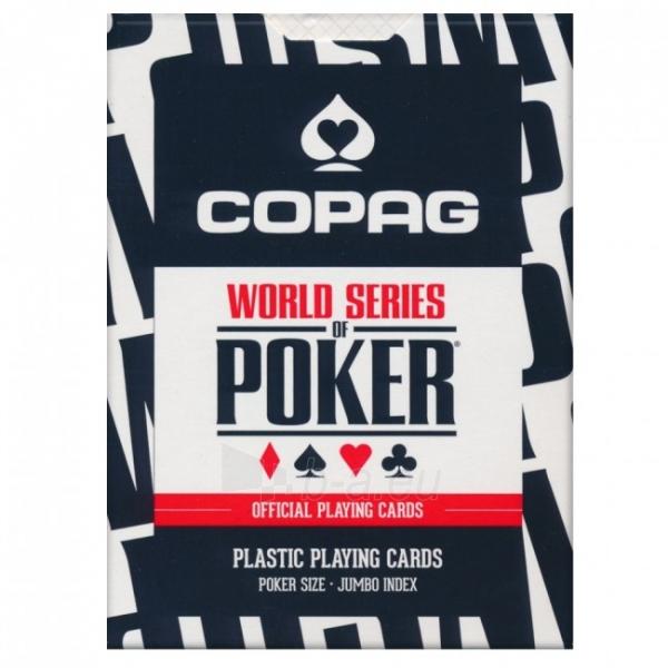 Copag EPT pokerio kortos (Mėlynos) Paveikslėlis 2 iš 9 251010000181