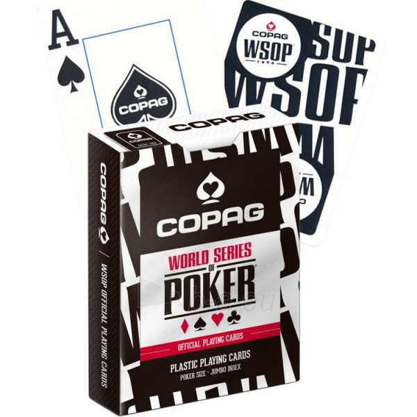 Copag EPT pokerio kortos (Mėlynos) Paveikslėlis 3 iš 9 251010000181