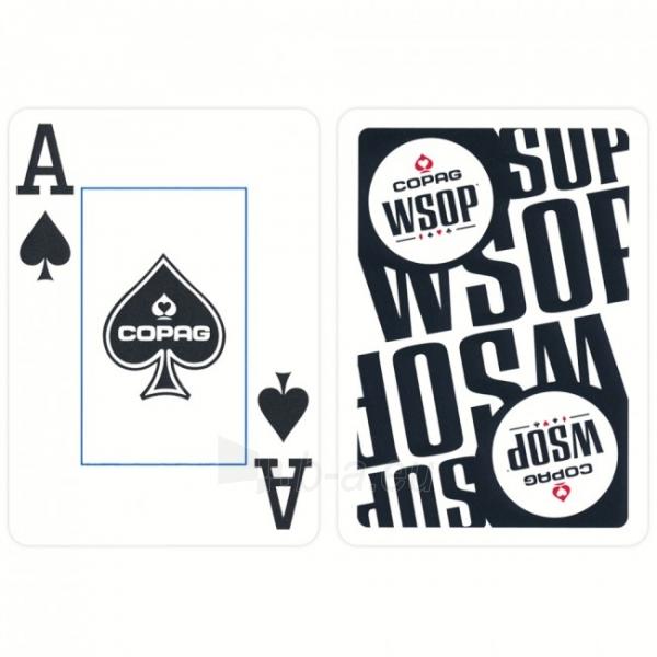 Copag EPT pokerio kortos (Mėlynos) Paveikslėlis 5 iš 9 251010000181
