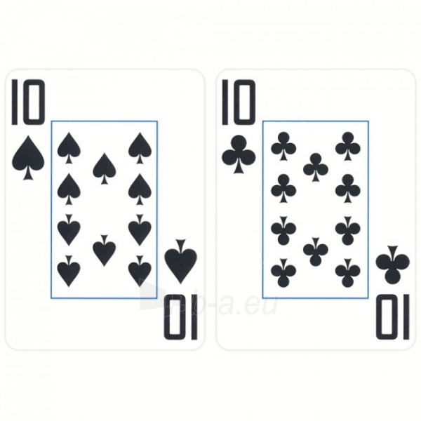 Copag EPT pokerio kortos (Mėlynos) Paveikslėlis 7 iš 9 251010000181