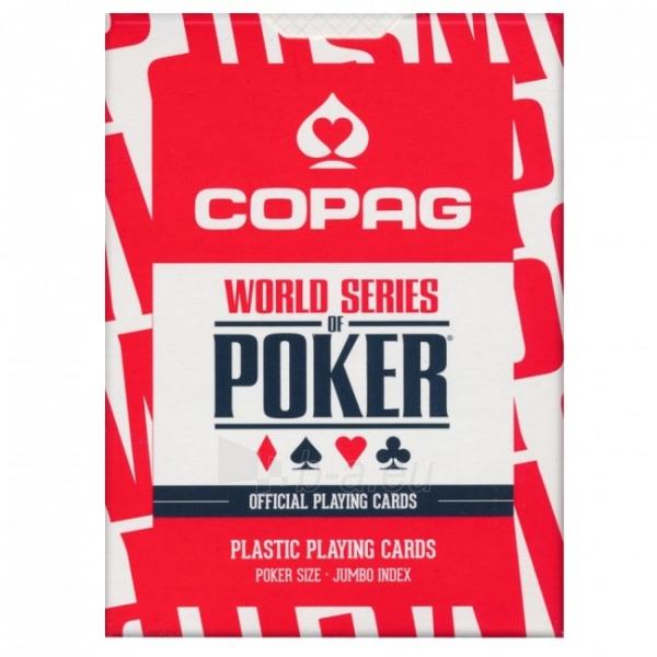 Copag EPT pokerio kortos (Raudonos) Paveikslėlis 9 iš 10 251010000182