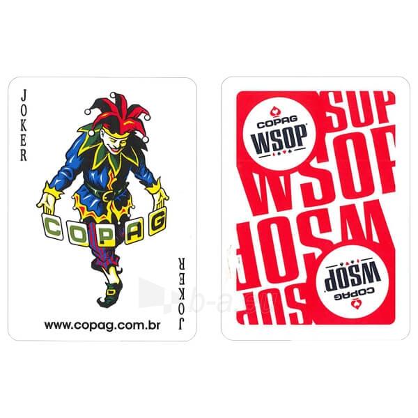 Copag EPT pokerio kortos (Raudonos) Paveikslėlis 6 iš 10 251010000182
