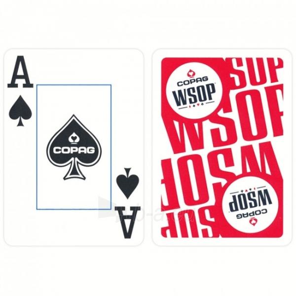 Copag EPT pokerio kortos (Raudonos) Paveikslėlis 5 iš 10 251010000182