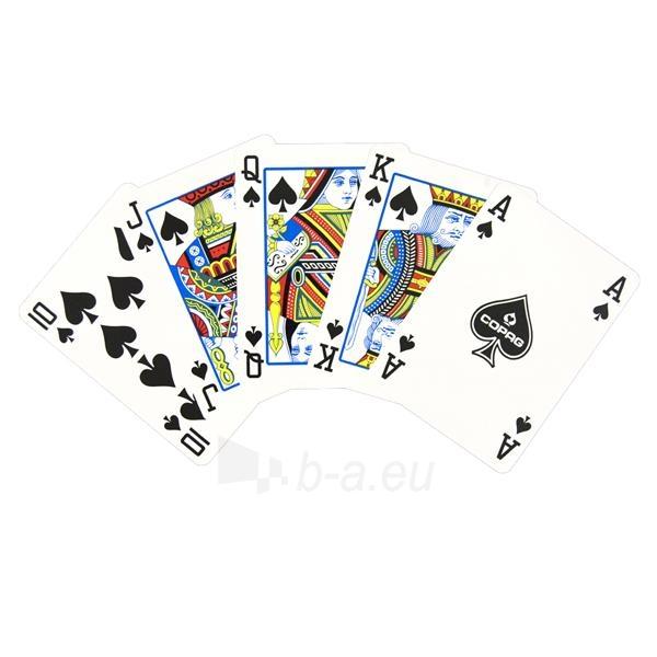 Copag Regular Index pokerio kortos (Raudonos) Paveikslėlis 3 iš 3 251010000260