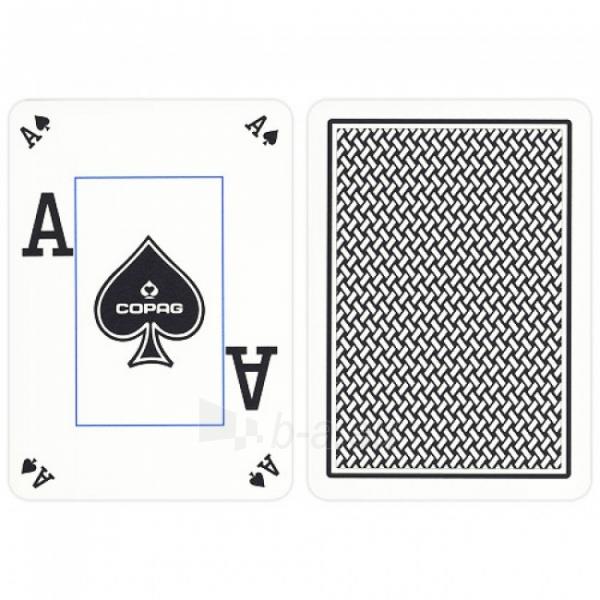 Copag Texas Holdem Peek Index pokerio kortos (Juodos) Paveikslėlis 2 iš 4 251010000190