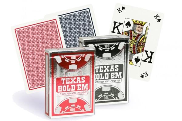 Copag Texas Holdem Peek Index pokerio kortos (Juodos) Paveikslėlis 4 iš 4 251010000190