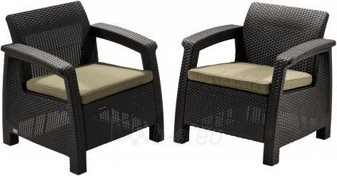 Corfu duo krēslu komplekts Paveikslėlis 2 iš 3 250402200086