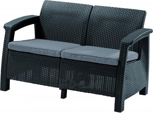 Corfu Love Seat sofa Paveikslėlis 2 iš 2 310820004526