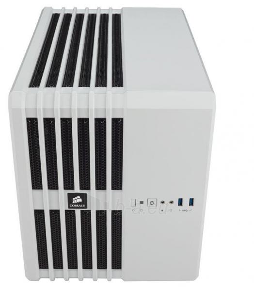 Corsair computer case Carbide Series White Steel Mid Tower Air 240 Paveikslėlis 2 iš 4 250255900723