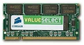 CORSAIR DDR-400 1G CL3 SODIMM UNBUFFERED Paveikslėlis 1 iš 1 250255110831