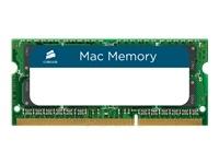 CORSAIR DDR3 1600Mhz 1x8GB Sodimm Paveikslėlis 1 iš 1 250255111749