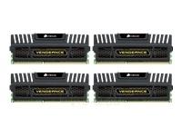 CORSAIR DDR3-1866 4*4G CL9 KIT VENGEANCE Paveikslėlis 1 iš 1 250255110932